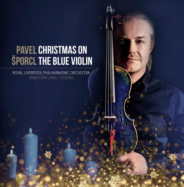 detail Šporcl Pavel: Christmas on the Blue Violin - CD