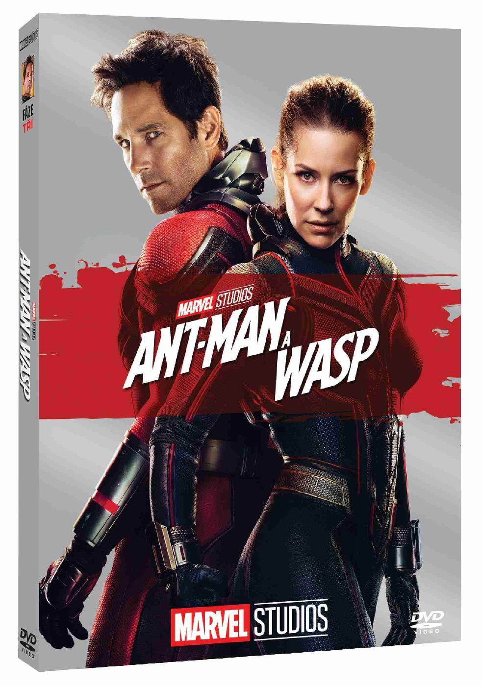 detail Ant-Man a Wasp - DVD