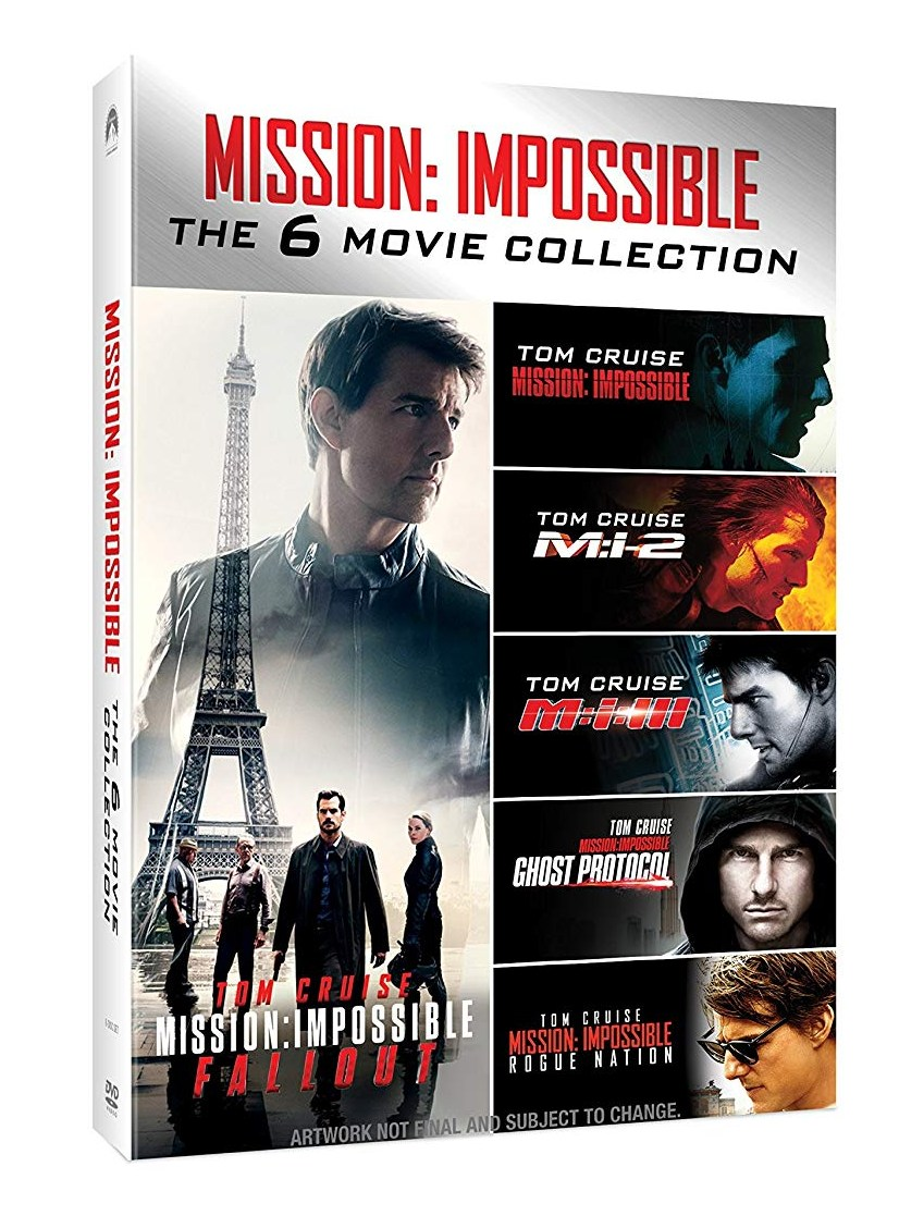detail MISSION: IMPOSSIBLE 1-6 KOLEKCE - 6 DVD