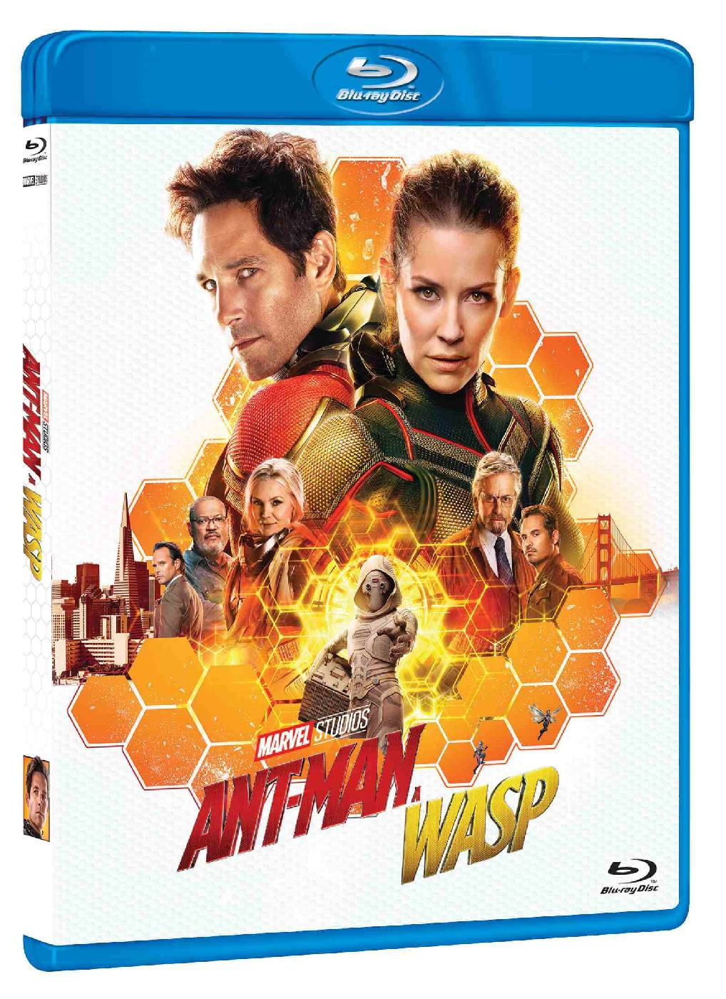 detail Ant-Man a Wasp - Blu-ray