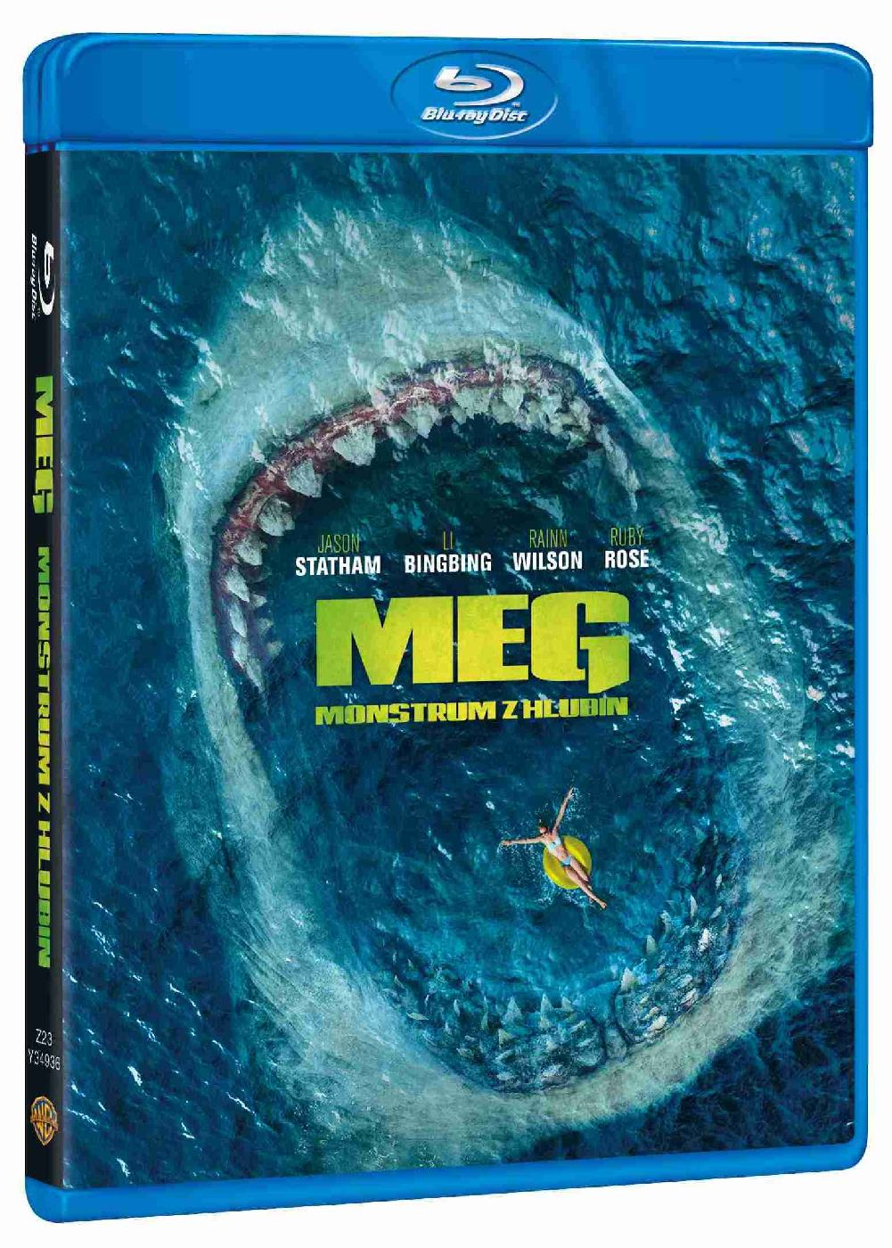 detail MEG: Monstrum z hlubin - Blu-ray