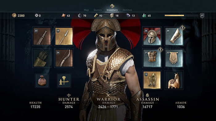 detail Assassin's Creed Odyssey - PC