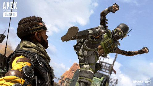 Apex Legends Bloodhound Edition pro PC hra