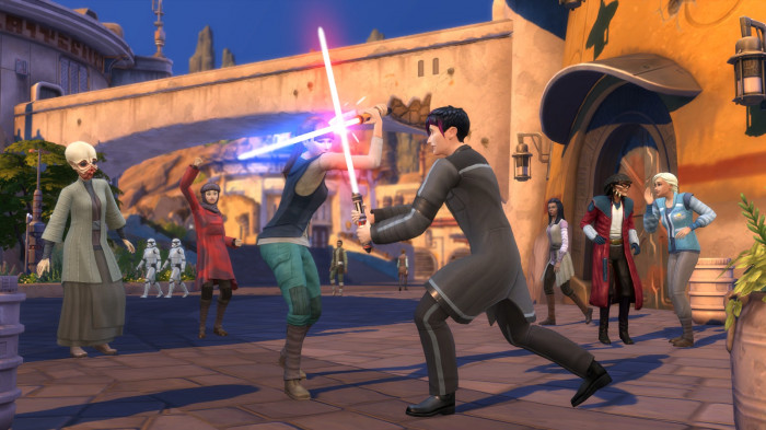 The Sims 4 + Star Wars: Výprava na Batuu pro PC hra