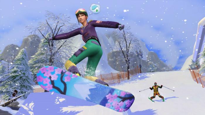 - The Sims 4: Život na horách