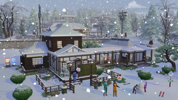 The Sims 4: Život na horách pro PC hra
