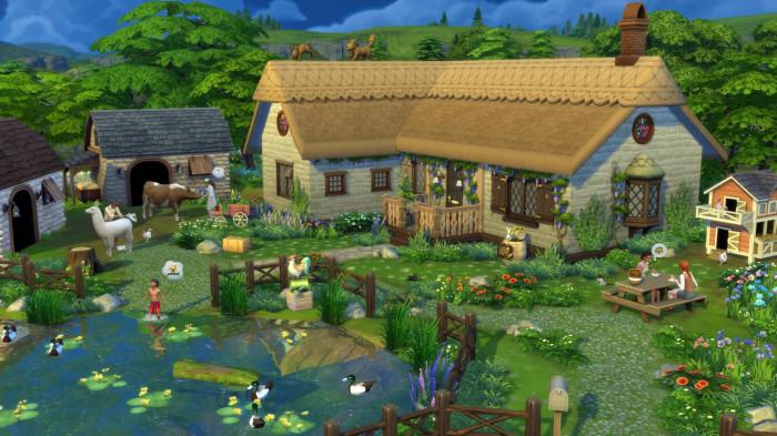 The Sims 4: Život na venkově pro PC hra