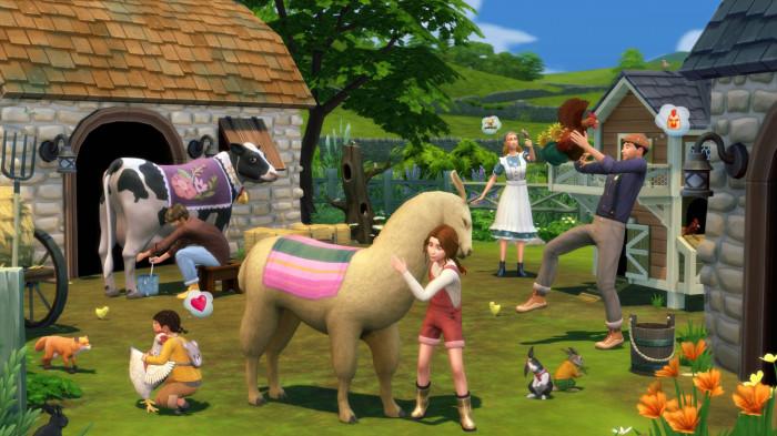 - The Sims 4: Život na venkově
