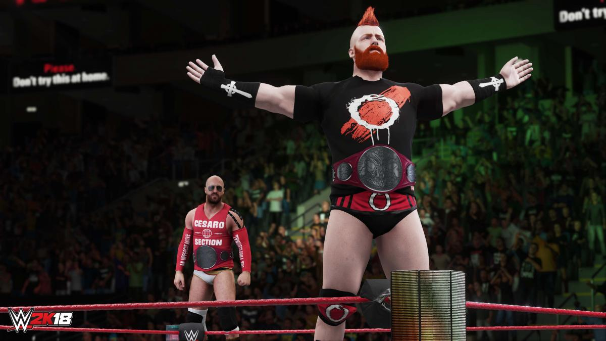 detail WWE 2K18 - SWITCH