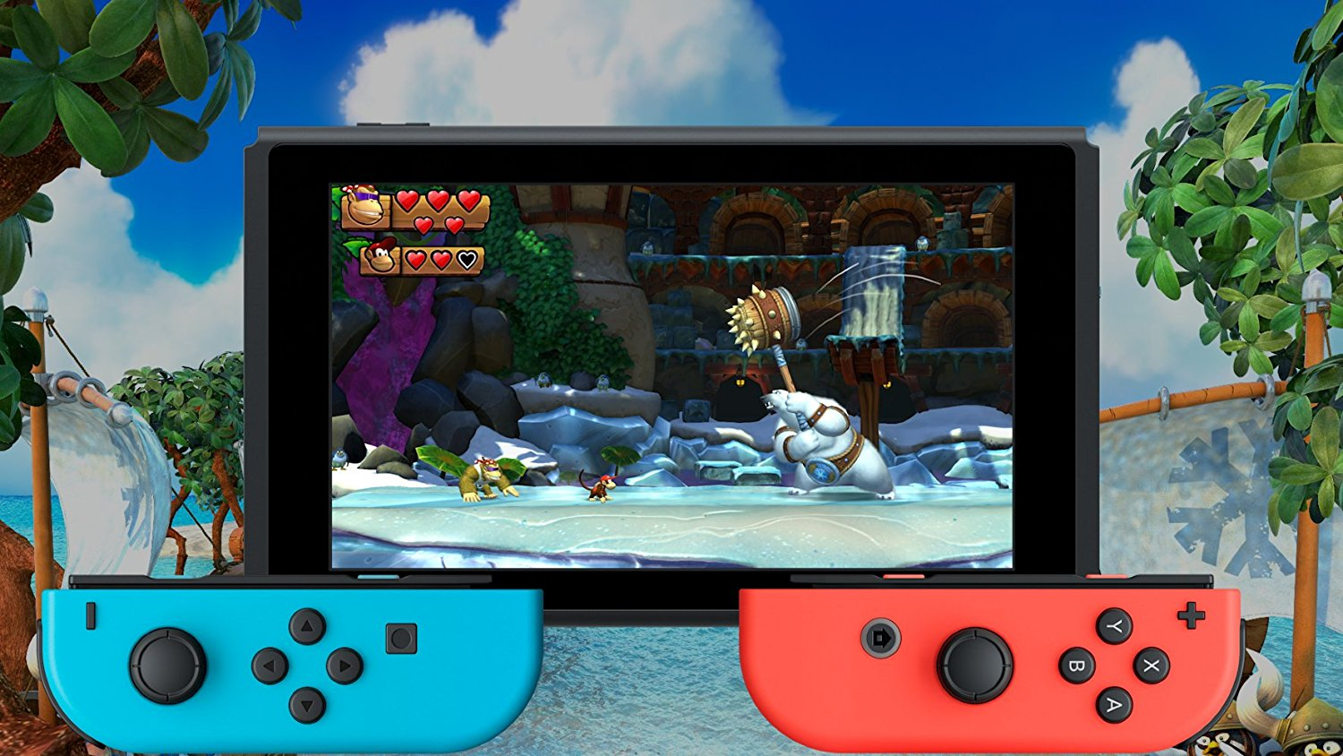 náhled Donkey Kong Country Freeze - Switch