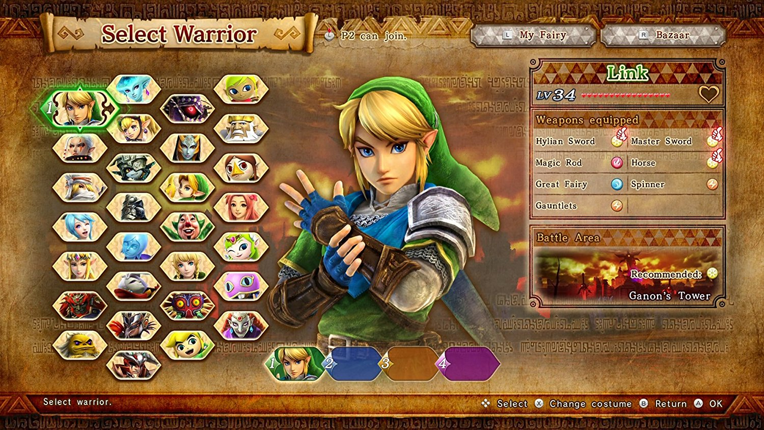 náhled Hyrule Warriors Definitive Edition - Switch