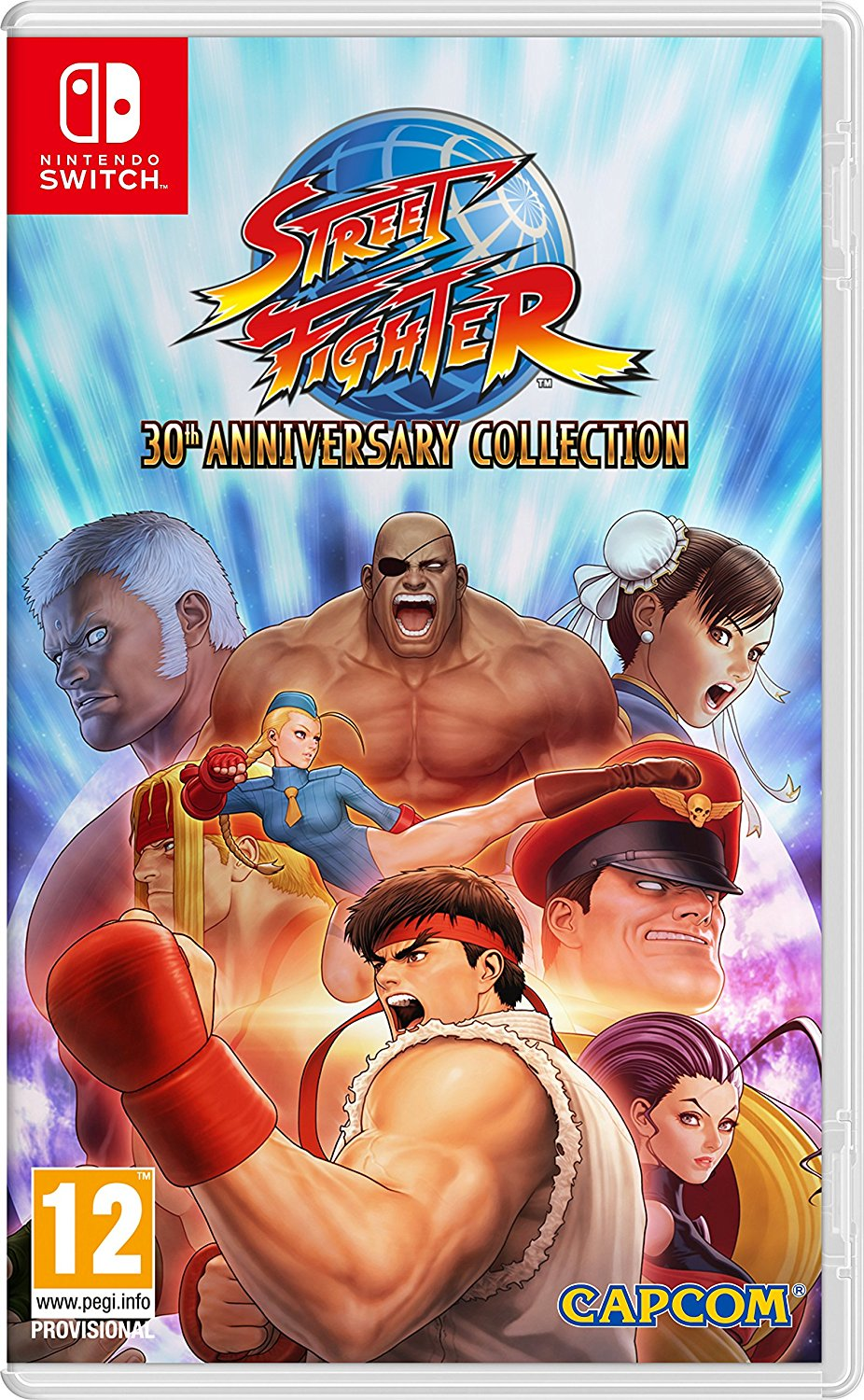 náhled Street Fighter 30th Anniversary Collection - Switch