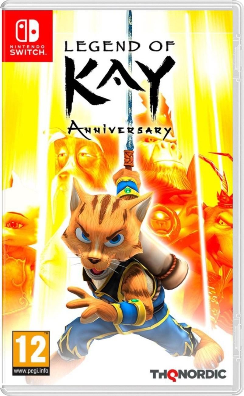 náhled Legend of Kay: Anniversary - Switch