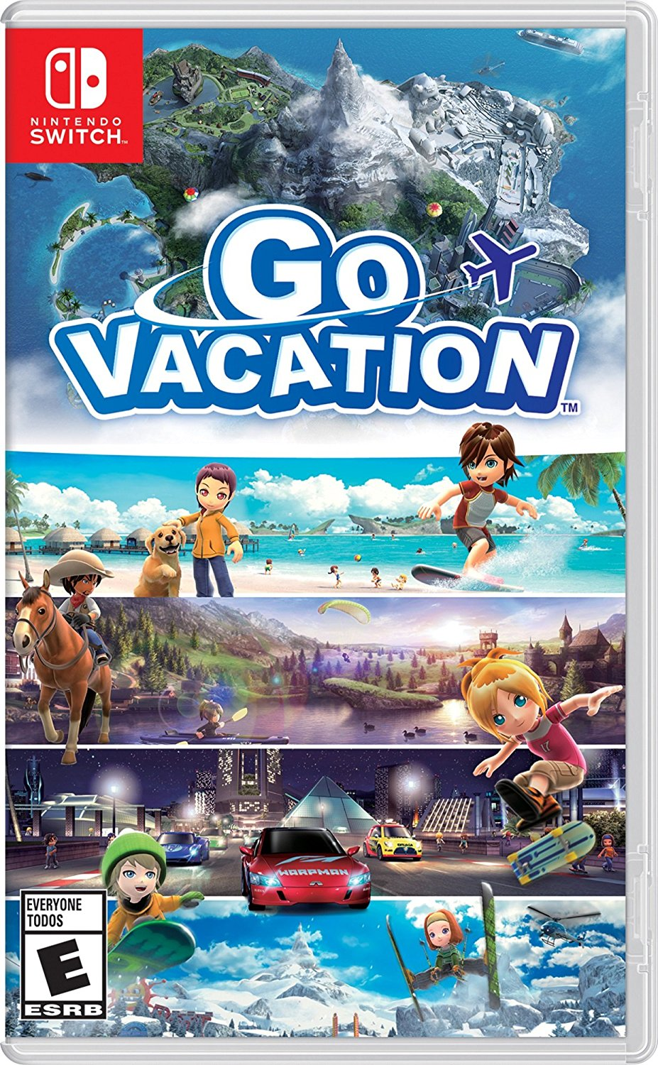 detail Go Vacation - Switch