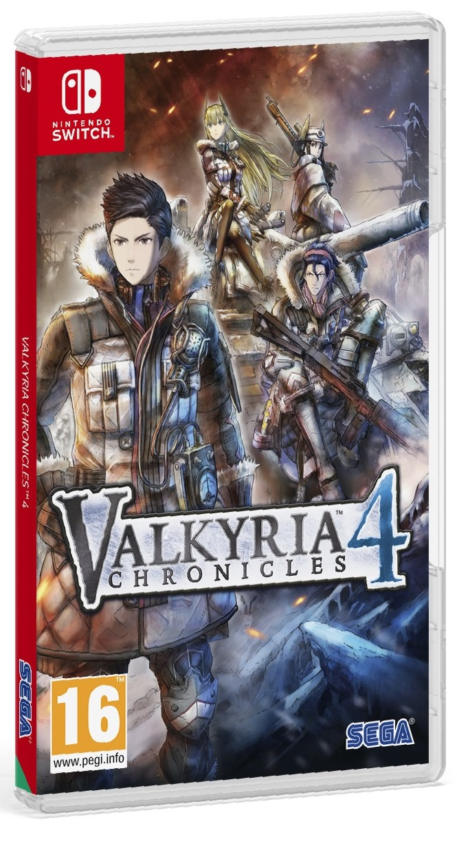 náhled Valkyria Chronicles 4 Launch Edition - Switch