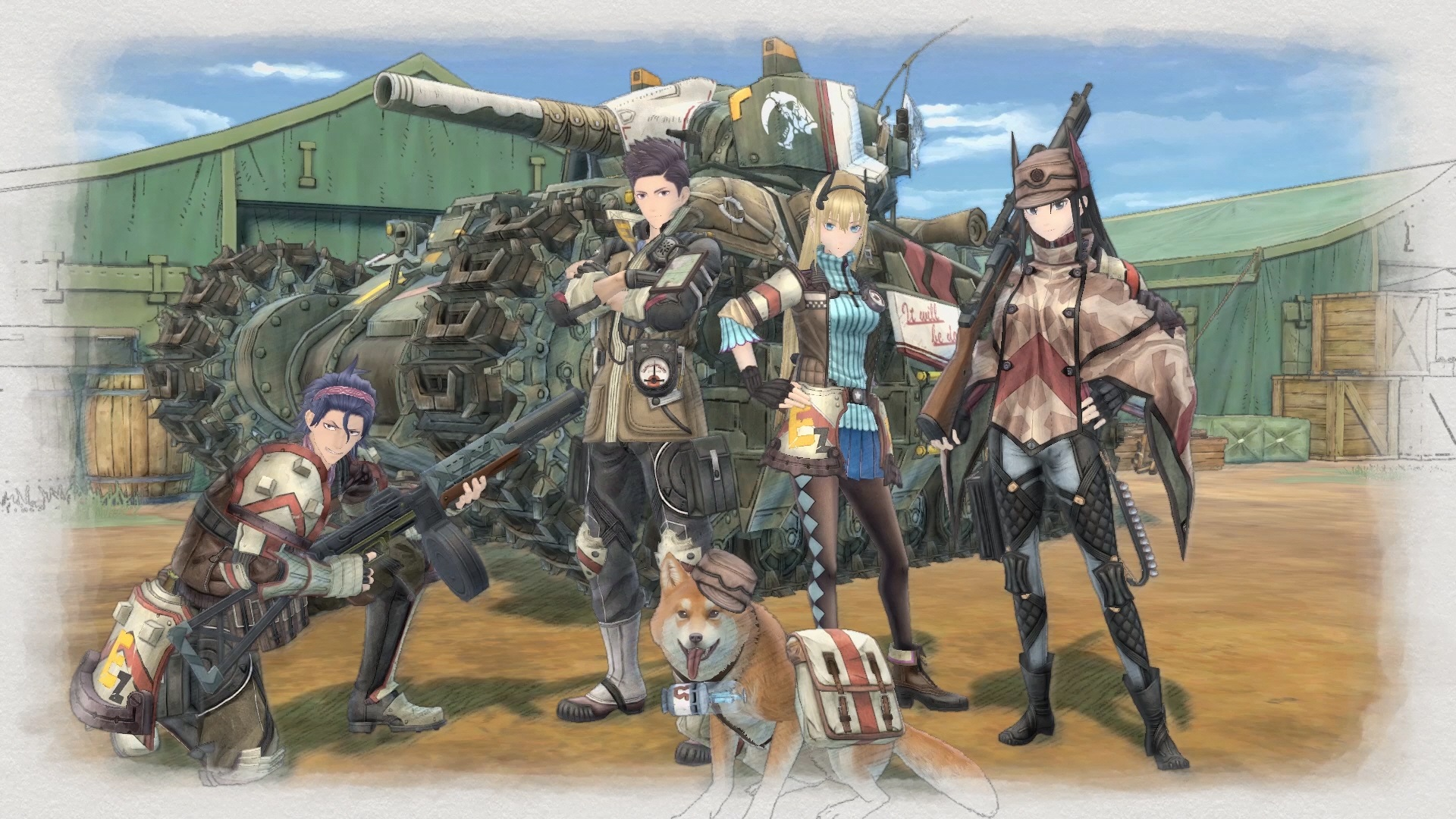 Nintendo Switch - Valkyria Chronicles 4