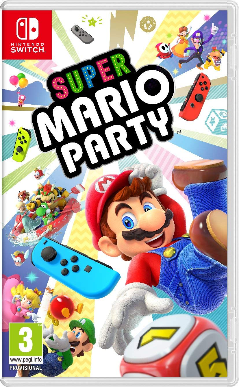 detail Super Mario Party - Switch