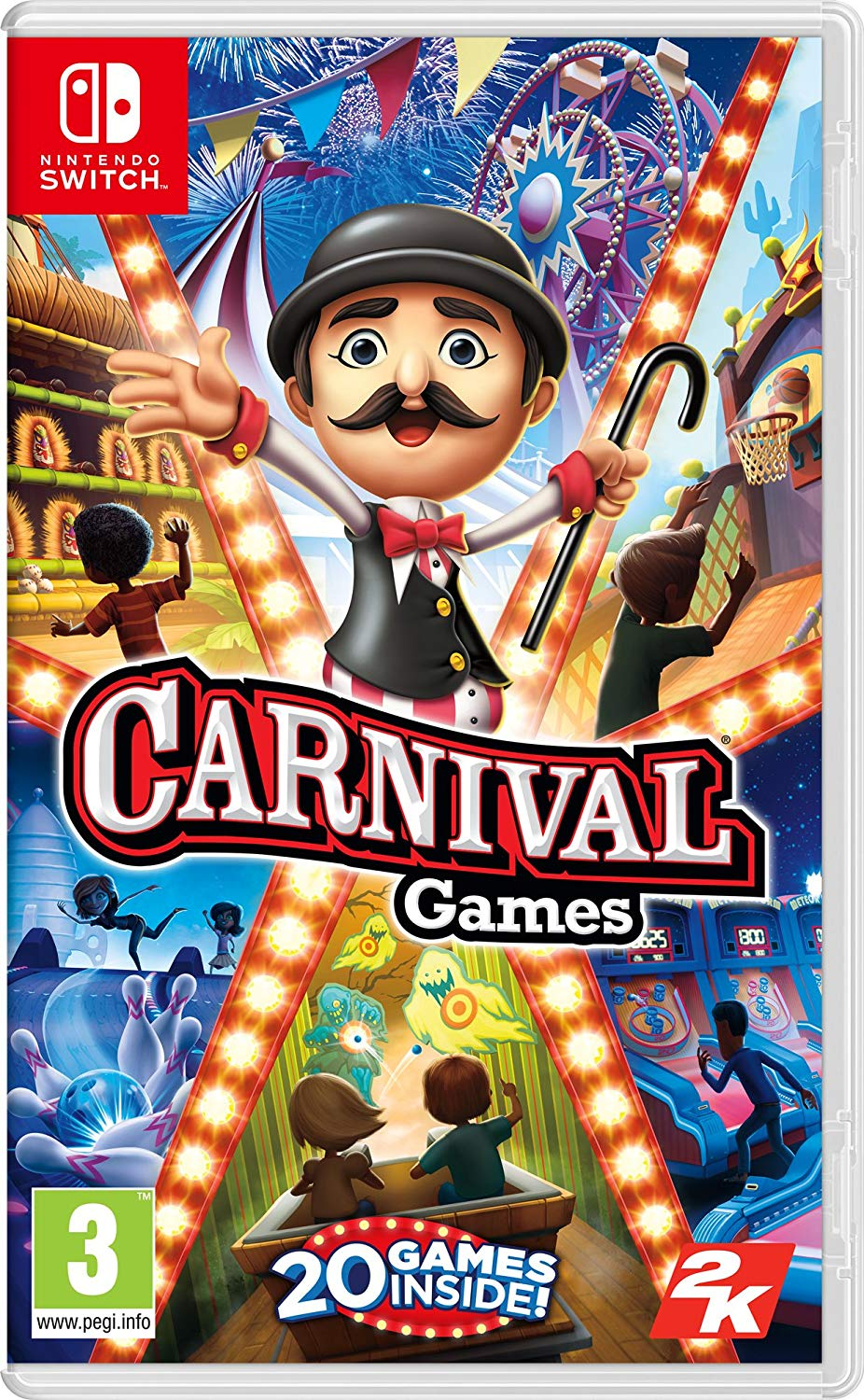 detail Carnival Games - Switch