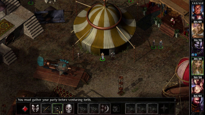 detail Baldur's Gate I & II: Enhanced Edition - Switch