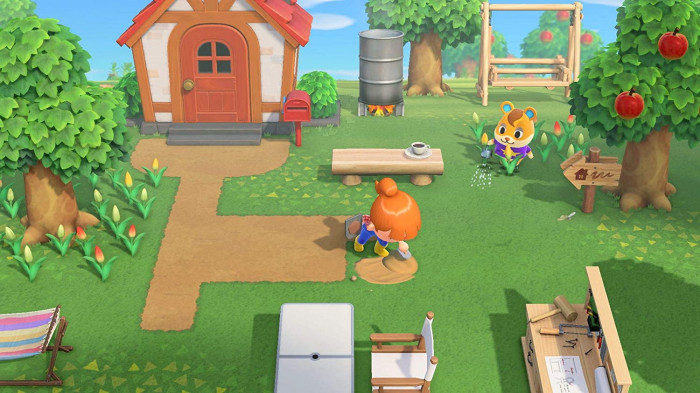 detail Animal Crossing: New Horizons - Switch