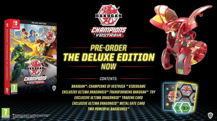 Bakugan: Champions of Vestroia Deluxe Edition pro Nintendo Switch