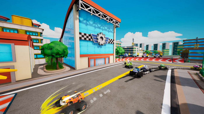 Nintendo Switch - Blaze and the Monster Machines: Axle City Racers