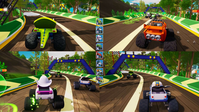 Blaze and the Monster Machines: Axle City Racers pro Switch
