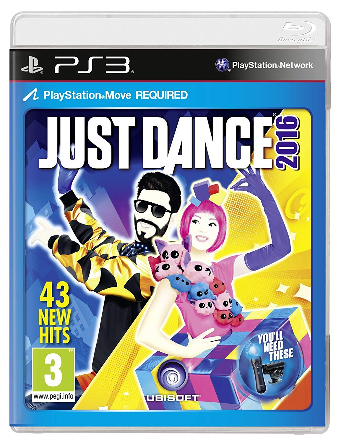 detail JUST DANCE 2016 - PS3 Move