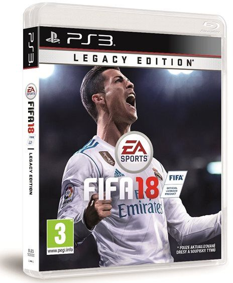 detail FIFA 18 (Legacy Edition) - PS3