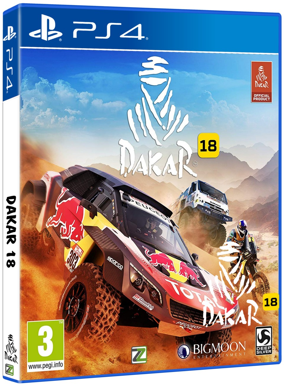 detail Dakar 18 - Day One Edition - PS4