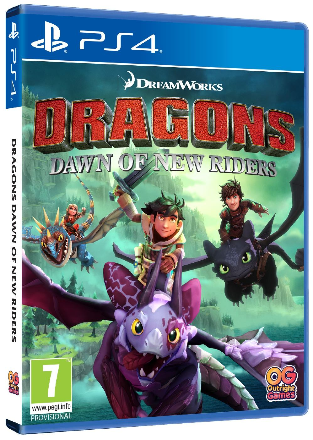 detail Dragons Dawn of New Riders (Jak vycvičit Draka) - PS4
