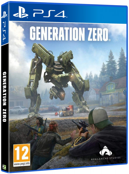 detail Generation Zero - PS4