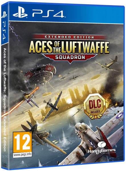 detail Aces of the Luftwaffe: Squadron Extended Edition - PS4