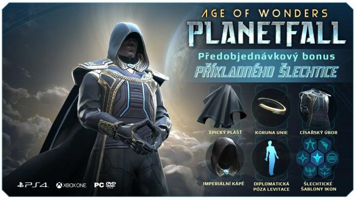 Age of Wonders: Planetfall pro Playstation 4