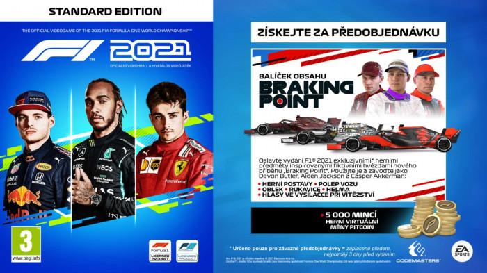 F1 2021 pro Playstation 4