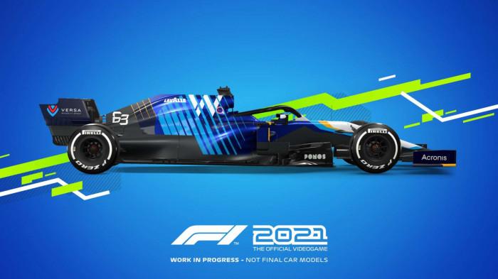 F1 2021 pro PS5