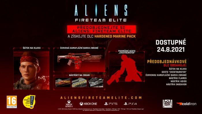 Aliens: Fireteam Elite pro PlayStation 5