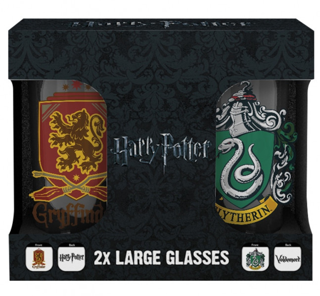 detail Sklenice Harry Potter - Erby set 2 ks 500 ml