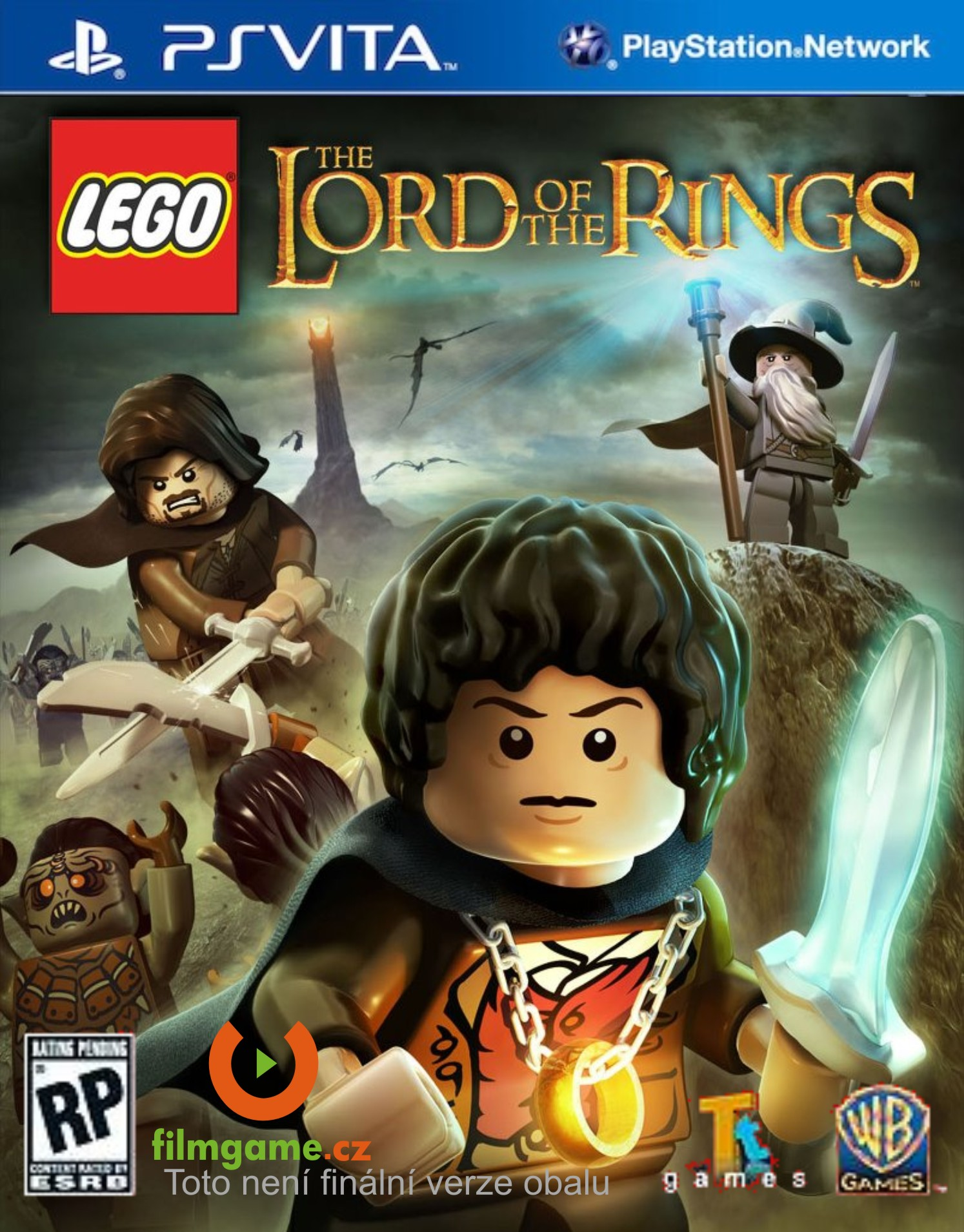 detail LEGO LORD OF THE RINGS - PSVITA