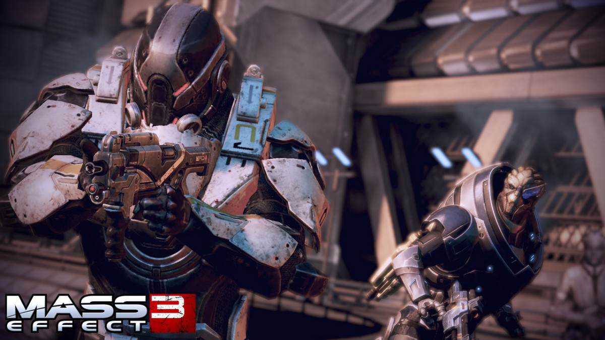 detail MASS EFFECT 3 - X360