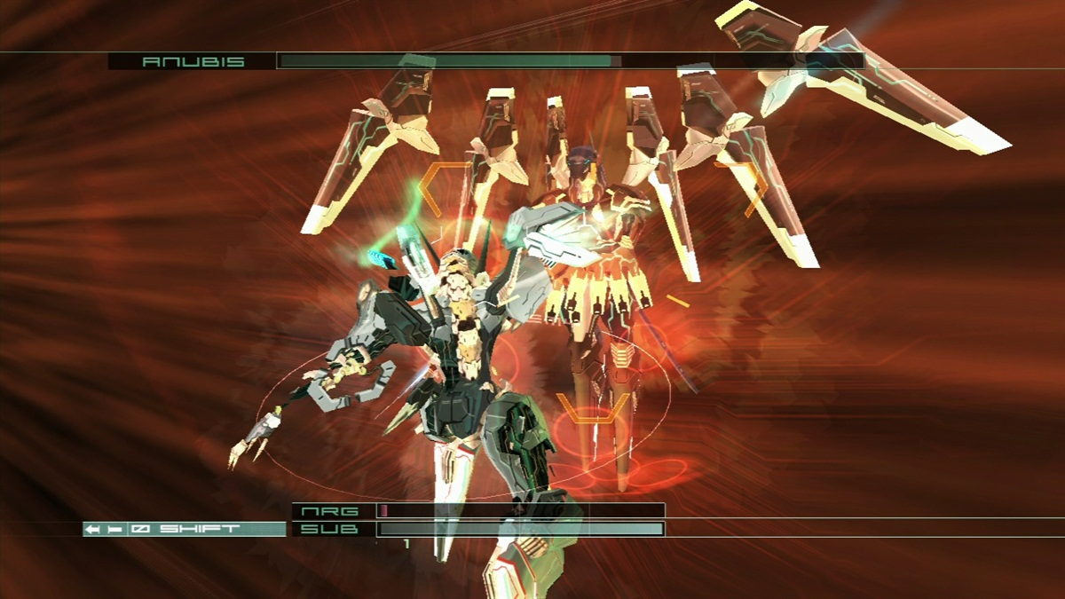 detail ZONE OF THE ENDERS: HD COLLECTION - X360
