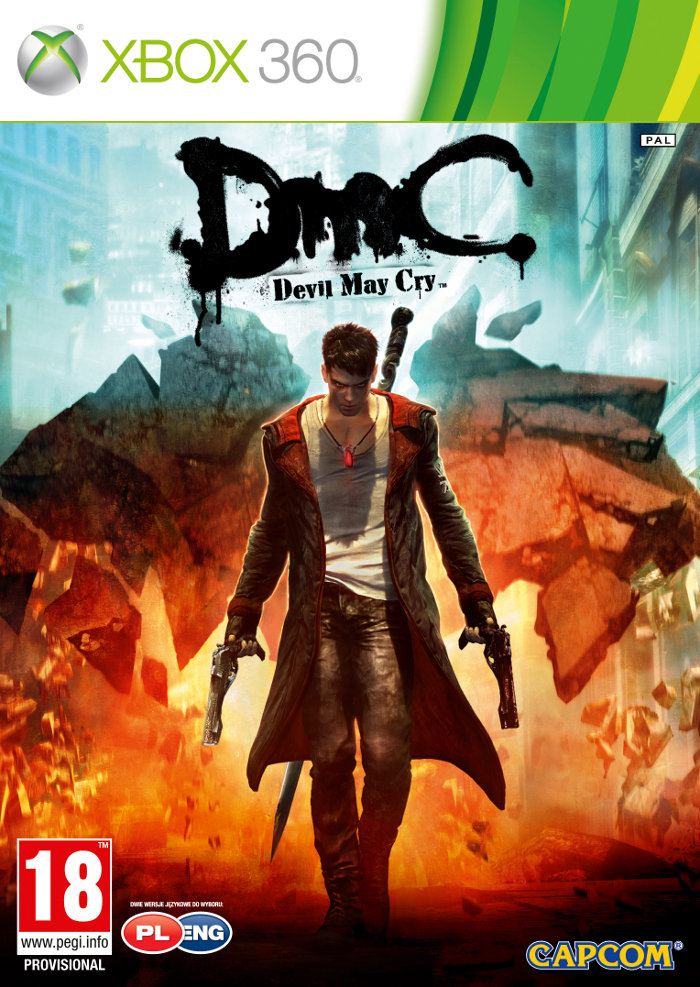 detail DMC DEVIL MAY CRY - X360