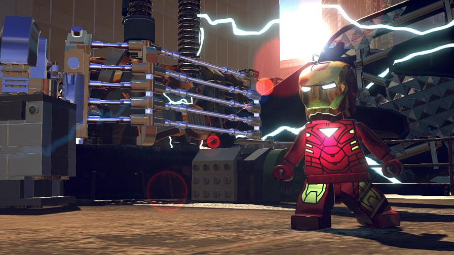 detail LEGO MARVEL SUPER HEROES - X360