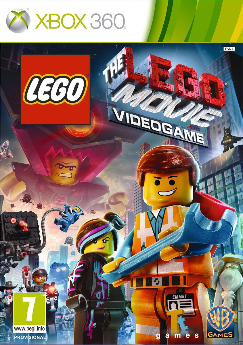 detail LEGO MOVIE: THE VIDEOGAME - X360