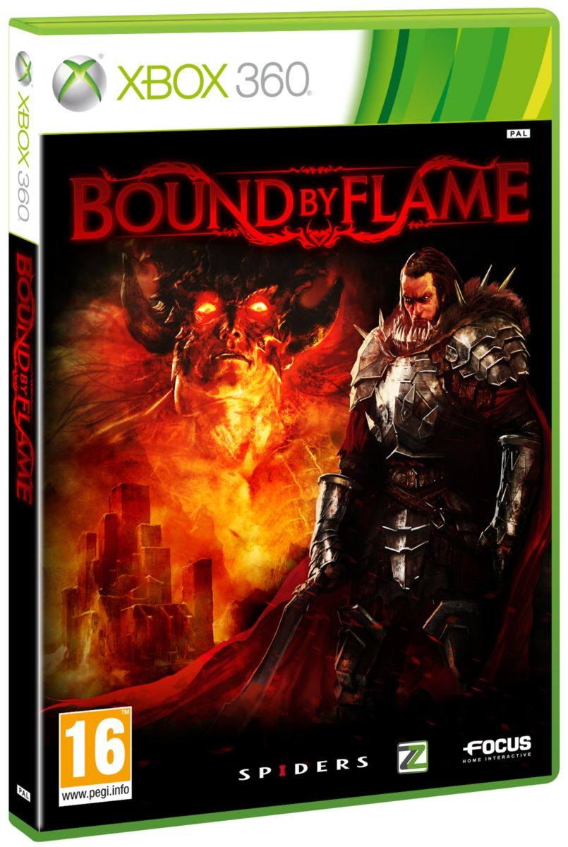 detail BOUND BY FLAME - X360