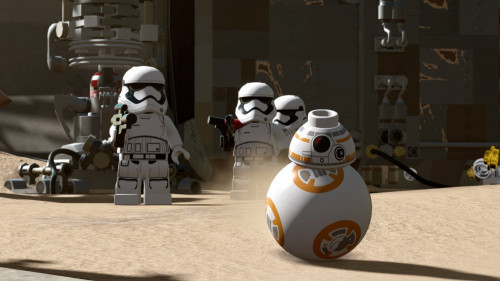 Microsoft Xbox 360 - Lego Star Wars: The Force Awakens
