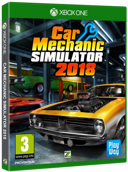 detail Car Mechanic Simulator - Xone