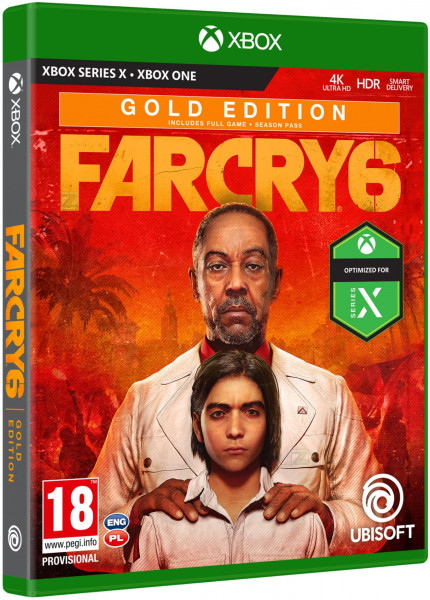 detail Far Cry 6 Gold Edition - XOne/XSX