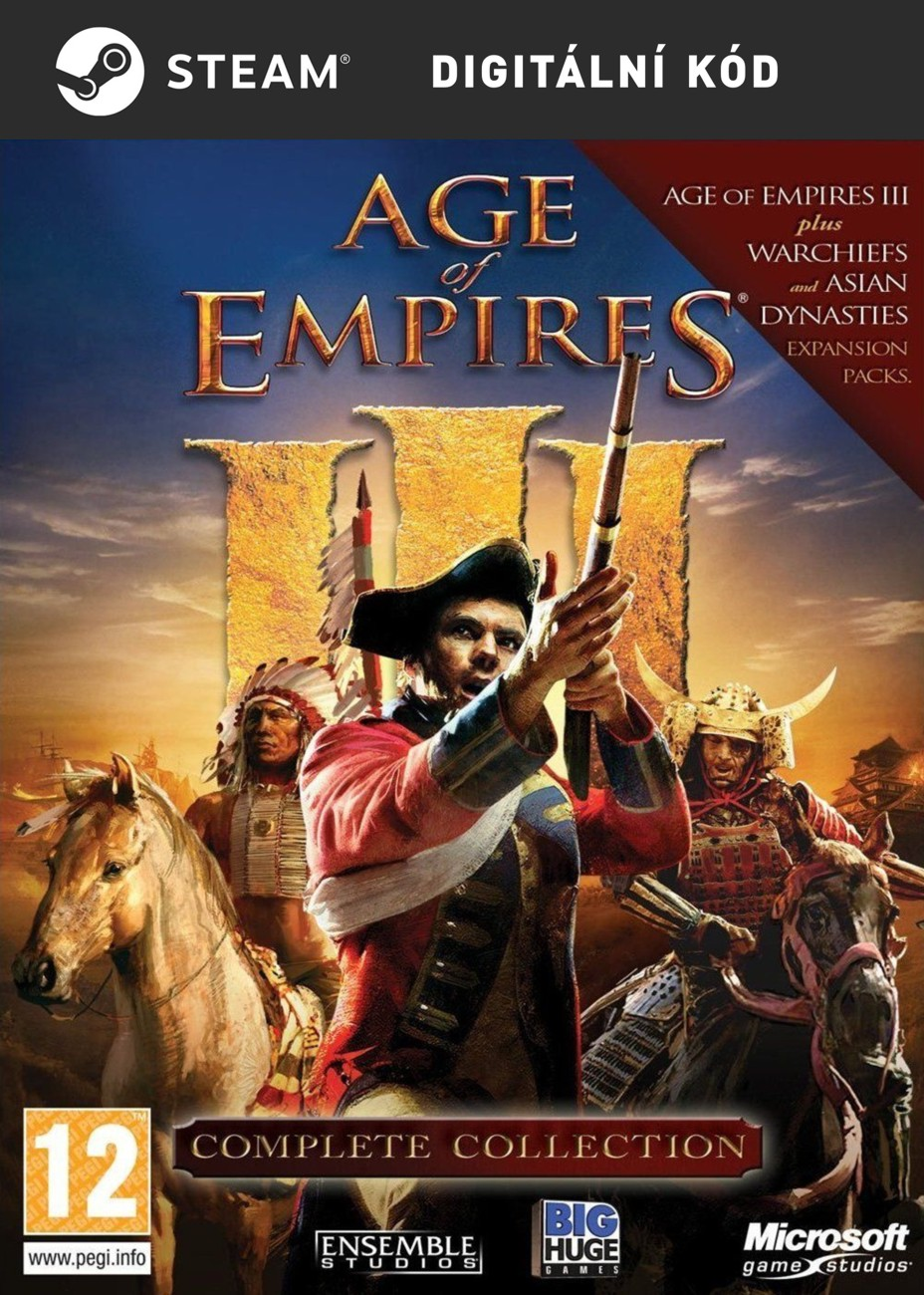 detail Age of Empires III Complete Collection - PC (licence - digitální produkt ESD)