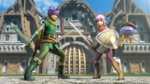- Dragon Quest Heroes 2 Explorer Edition
